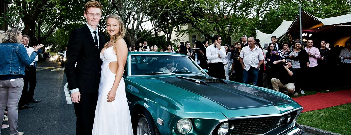 Mustang matric couple